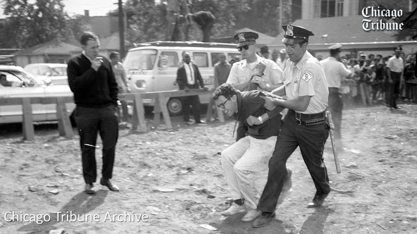 Bernie Sanders Arrested in 1963
